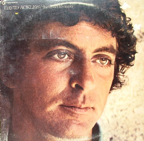 The front cover of David's first album when it was re-released as Road to Cairo.