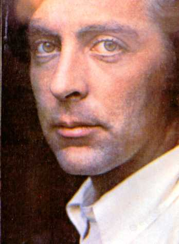 The photo of David on the back cover of his first album.