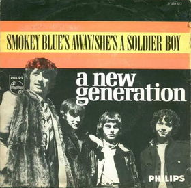 The brothers as part of New Generation on cover of single.