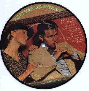 Picture disc for Easy Come Easy Go, with unknown movie still.