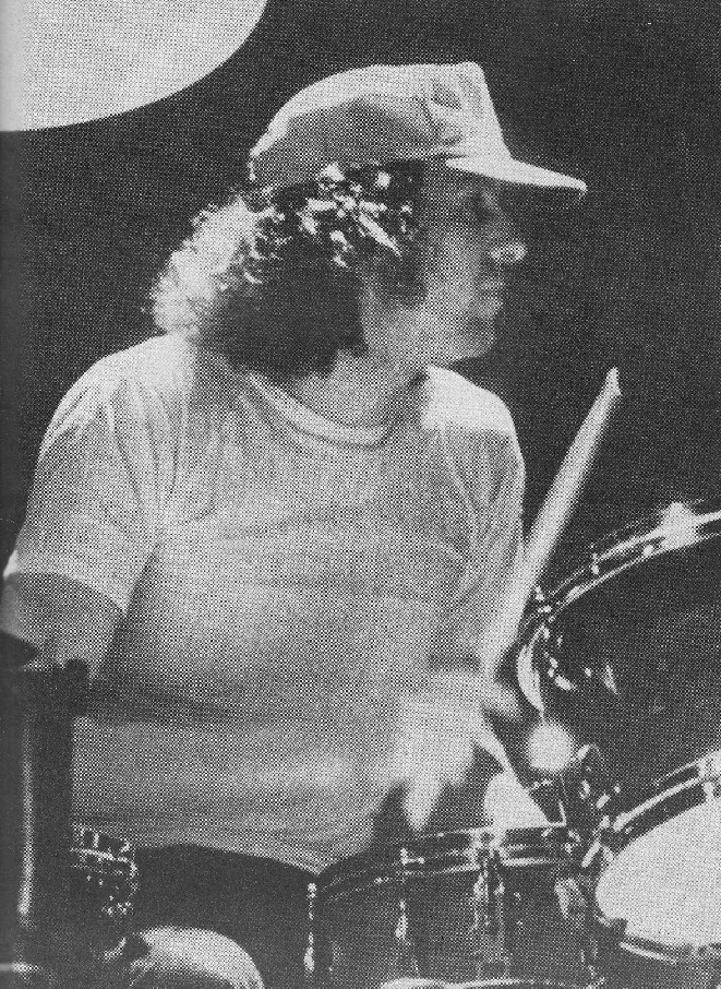Willie on drums.