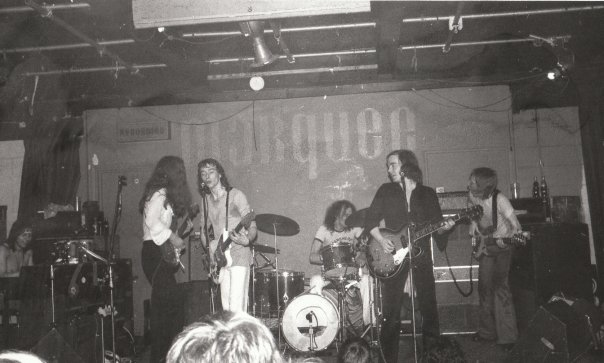 The band's first combined gig was at the Marquee in London.