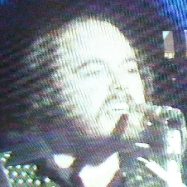 Iain on TotP doing Easy Come Easy Go.
