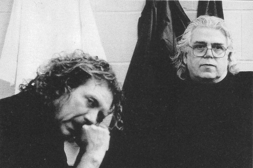 Photo: Tim with Robert Plant backstage