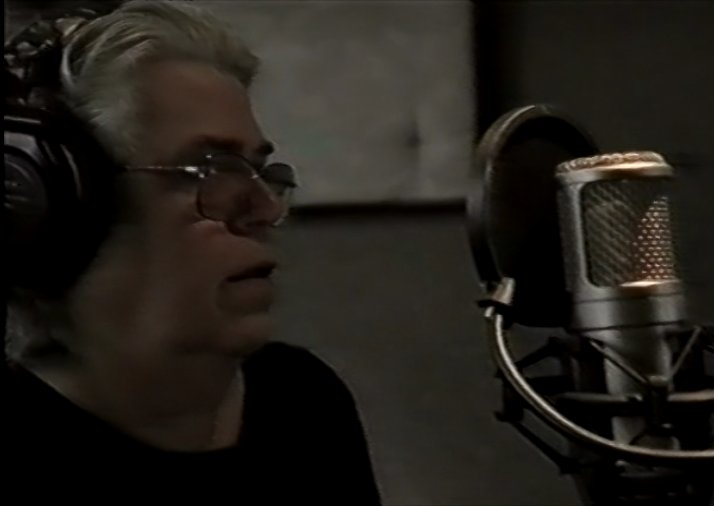 "Tim in the recording studio (taken from the film ""Where Was I?"" by Jacques Laureys)"